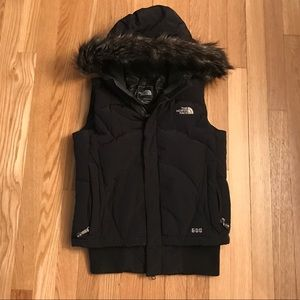 North Face 600 fill vest